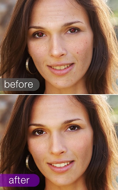 Face retouch